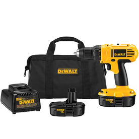 DEWALT 18-Volt 1/2-in Cordless Battery Included Drill with Soft Case