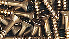 Oxidized Silicon Bronze Screws